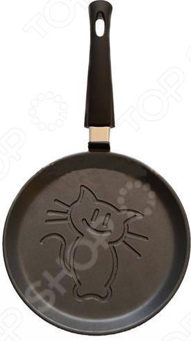 Сковорода блинная Нева-металл 6222 «Кот» сковорода блинная regent inox сковорода блинная