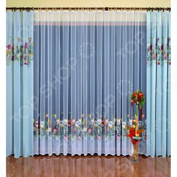 Комплект штор Wisan 3104 это качественный оконный занавес, который преобразит интерьер и оживит атмосферу, придав всей комнате домашний уют, завершенность и оригинальность. Шторы изготовлены из полиэстера, который практически не мнется, легко отстирывается от загрязнений, не притягивает пыль и не требует глажки. Благодаря этому ткань способна выдержать сотни стирок без потери цвета и прочности. Обычные материалы со временем выгорают, на них собирается пыль, появляются неприятные запахи. С полиэстером этого не происходит штора почти не пачкается и не впитывает запахи, при этом вы очень легко ее постираете и высушите. Интерьер квартиры или дома, в котором окна не украшены занавесом, сегодня трудно представить, поэтому шторы станут отличным подарком для любого человека. Купить шторы способ недорого, быстро и изящно преобразить дизайн домашнего интерьера!