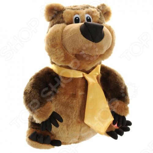 Мягкая игрушка интерактивная «Медведь Шпунтик»