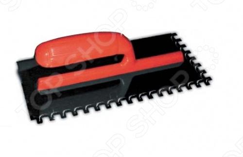 Гладилка FITДругой отделочный инструмент<br>Гладилка зубчатая предназначена для равномерного нанесения и распределения строительных растворов и смесей на любые поверхности. Зубчатое полотно изготовлено из нержавеющей стали с пластиковой ручкой.<br>