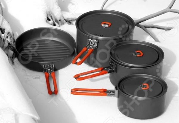 Набор портативной посуды Fire-Maple Feast 5