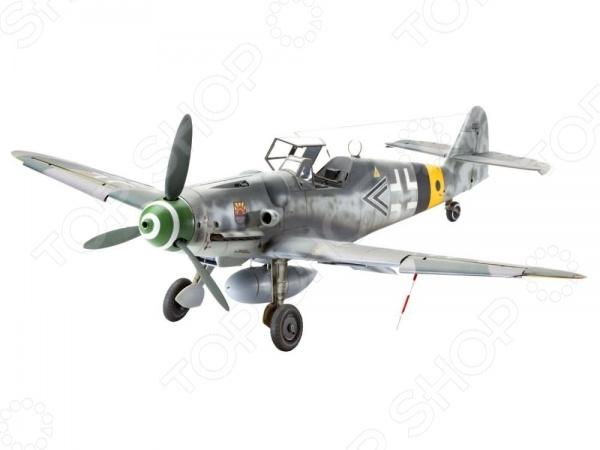 Сборная модель истребителя Revell Messerschmitt Bf109 G-6 сборная модель вертолета revell a 109 k2