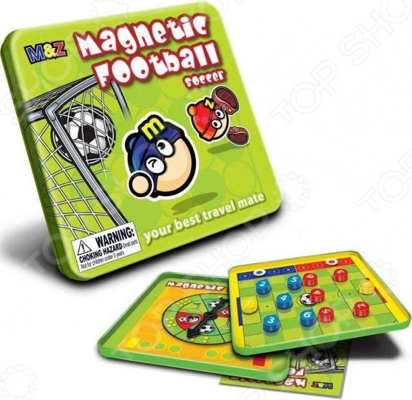 Игра магнитная Mack Zack Футбол представляет собой занимательную и интересную игру, во время которой ваш ребенок не только получит удовольствие от самого игрового процесса, но и сможет развивать сообразительность, гибкость ума, логику, мелкую моторику рук. Очень удобной особенностью игры является наличие металлического игрового поля, позволяющего надежно закреплять на нем все необходимые элементы при помощи магнитов. Благодаря этому ее можно брать с собой в дорогу, играть в машине, поезде или самолете. Так же, удобства добавляет прилагающаяся к каждому набору инструкция, наглядно и подробно разъясняющая все правила, особенности и нюансы игрового процесса. Подарите своему ребенку возможность развиваться и играть одновременно.