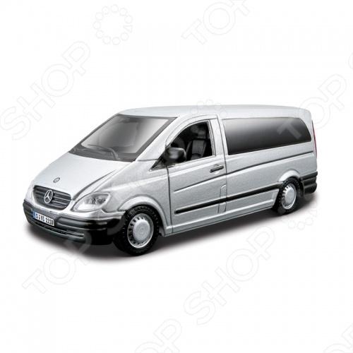 Модель автомобиля 1:32 Bburago Mercedes-Benz Vito. В ассортименте
