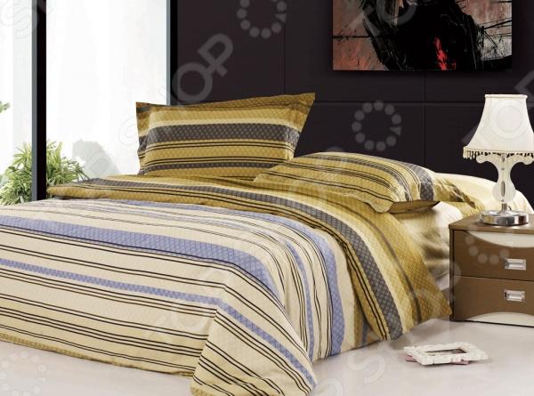 Комплект постельного белья Softline 08596. 2-спальный2-спальные<br>Комплект постельного белья Softline 08596 это незаменимый элемент вашей спальни. Человек треть своей жизни проводит в постели, и от ощущений, которые вы испытываете при прикосновении к простыням или наволочкам, многое зависит. Чтобы сон всегда был комфортным и безмятежным, а пробуждение лёгким и приятным, мы предлагаем вам этот качественный комплект постельного белья. Благодаря красивой расцветке и высококлассным материалам изготовления, атмосфера вашей спальни наполнится теплотой и уютом, а вы испытаете множество сладостных мгновений спокойного сна. В качестве сырья для изготовления этого изделия использованы нити хлопка. Натуральное хлопковое волокно известно своей прочностью и легкостью в уходе. Волокна хлопка состоят из целлюлозы, которая отлично впитывает влагу. Хлопок дышит и согревает лучше, чем шелк и лен. Поэтому одежда из хлопка гарантирует владельцу непревзойденный комфорт, а постельное белье приятно на ощупь и способствует здоровому сну. Не забудем, что хлопок несъедобен для моли и не деформируется при стирке. За эти прекрасные качества он пользуется заслуженной популярностью у покупателей всего мира.<br>