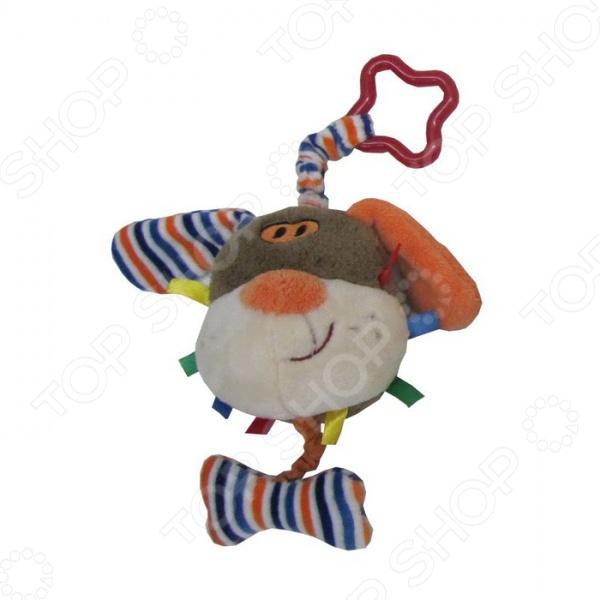 Игрушка-погремушка мягкая Coool Toys «Песик» Игрушка-погремушка мягкая Coool Toys «Песик» /