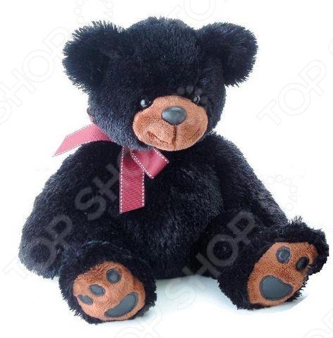 Игрушка мягкая AURORA Медведь 36 см станет отличным подарком вашему малышу. Очаровательный плюшевый медвежонок с большим бантом на шее никого не оставит равнодушным, подарит вам и вашим детям умиление и радость. Изделие выполнено из высококачественного гипоаллергенного плюша с набивкой из синтепона и предназначено для детей от 3-х лет. Игрушку можно стирать в машинке, не опасаясь ее деформации и изменения цвета.