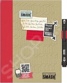 Папка Smash K&amp;amp;Company «Красный дудл»Альбомы. Чипборды<br>Папка Smash K Company Красный дудл окажется весьма полезной тем, кто любит создавать памятные вещи своими руками. С помощью этой папки вы сможете сами сделать памятный альбом или записную книжку. В папке с твердой обложкой находится 40 тематически оформленных страниц с памятными фразами на иностранном языке и ручка-клей Smash черного цвета.<br>