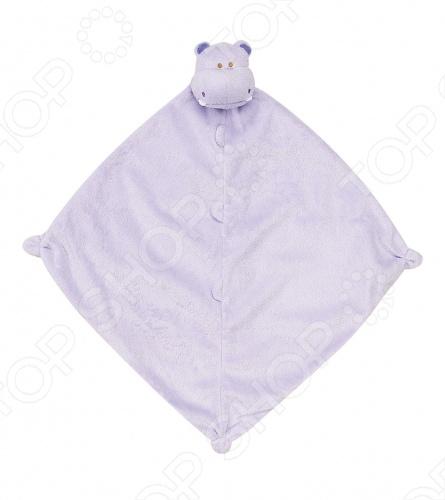 Покрывальце-игрушка Angel Dear БегемотПеленальные одеяла. Пеленки<br>Angel Dear, создает классическую одежду для новорожденных и детей младшего возраста от 0 до 4 лет . При создании учитываются самые современные тенденции в мире моды, и особое внимание уделяется деталям. Каждая коллекция имеет свой неповторимый стиль, который дополняется различными милыми аксессуарами, чтобы сохранить ощущения столь сладостного периода детства. Комфорт ребенка - основополагающий принцип в создании коллекций каждого сезона. Линии одежды Angel Dear вы можете увидеть в лучших бутиках и магазинах по всей территории США. Покрывальце-игрушка Angel Dear Бегемот. Очаровательная покрывальце-игрушка Бегемот из супер мягкого кашемирового полиэстера декорированная мордочкой животного. Чудесная развивающая игрушка для самых маленьких. Состав: 100 кашемировый полиэстер. Размер: 33х33 см.<br>