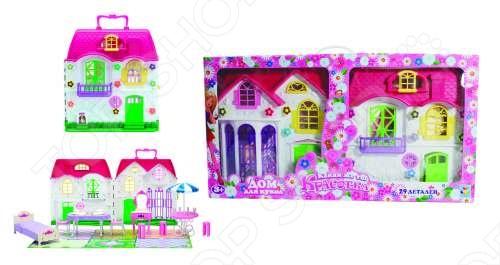 Дом для кукол с мебелью 1 TOY Т56586
