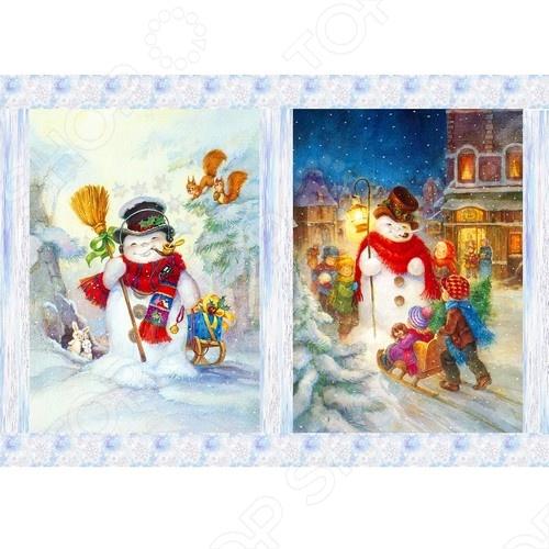 Декупажная карта Karalliki «Модные снеговики»Декупаж<br>Декупажная карта Karalliki Модные снеговики это отличная основа для творческой работы. Декупаж поможет вам сохранить все важные моменты жизни на собственных изделиях из фотографий, газетных вырезок, рисунков и других памятных мелочей. Эту бумагу можно использовать как фон или для создания декоративных элементов. Изображение легко прикрепить к любой поверхности: она может подойти для декорирования всевозможных аксессуаров.<br>