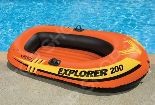 Лодка надувная Intex «Эксплорер 200» 58330 цена