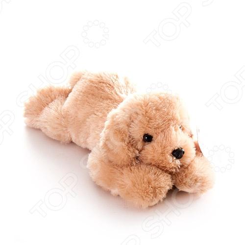 Мягкая игрушка Aurora «Ретривер»Мягкие игрушки<br>Игрушка мягкая AURORA Ретривер с безумно милыми глазками, стоит на прилавке в ожидании своего маленького хозяина. Очаровательный плюшевый щенок никого не оставит равнодушным, подарит вам и вашим детям умиление и радость. Изделие выполнено из высококачественного гипоаллергенного плюша с набивкой из синтепона и предназначено для детей от 3-х лет. С игрушкой можно как и играть днем, так и спать ночью, так как она не деформируется и не теряет внешний вид при машинной стирке.<br>