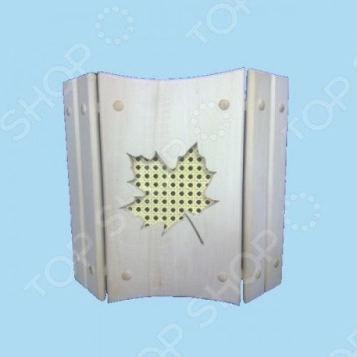 фото Абажур для светильника настенный «Клен», Обустройство бани
