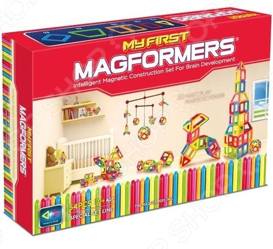 Конструктор магнитный Magformers My First Magformers 54