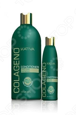 Кондиционер коллагеновый Kativa lovien essential бамбуковый кондиционер для волос бамбуковый кондиционер для волос