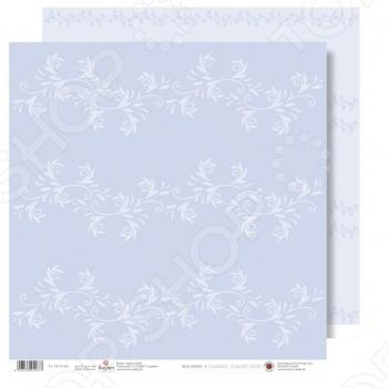 фото Бумага для скрапбукинга Rayher «Белые цветы», купить, цена