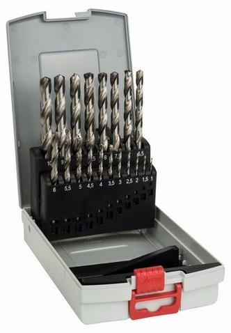 Набор сверл по металлу Bosch 2608587013 пилки для лобзика по металлу для прямых пропилов bosch t118a 1 3 мм 5 шт
