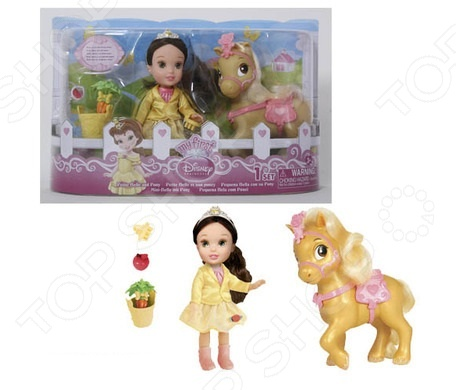 Кукла с аксессуарами Disney Princess «Малышка» disney princess train case