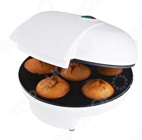 Кексница Smile WM3605Вафельницы и орешницы<br>Кексница Smile WM3605 предназначена для домашнего приготовления кексов и маффинов. За один раз в ней можно испечь семь штук мини-кексов. Это удобный, компактный и простой в использовании аппарат. Порадуйте своих близких утренними горячими кексами с разнообразными начинками. Все зависит только от вашей фантазии.<br>