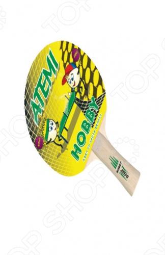 Ракетка для настольного тенниса Atemi Hobby сетка для настольного тенниса torres hobby tt5017