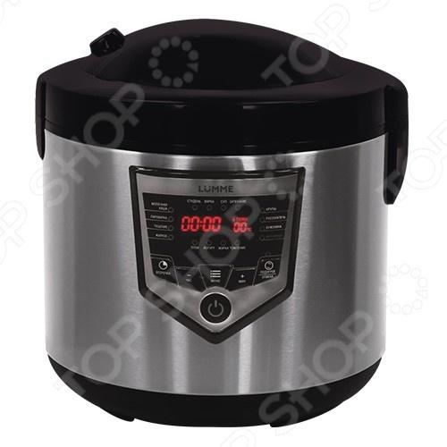 Мультиварка Lumme LU-1446Мультиварки<br>Мультиварка Lumme LU-1446 современная помощница на кухне, совмещающая в себе кучу интересных режимов для приготовления любимых блюд и воплощения кулинарных идей. Это многофункциональная модель способная заменить кучу кухонных принадлежностей, в ней можно делать вкусную пищу для всей семьи. Основные программы и возможности приготовления:  Молочная каша  Томление рекомендуется для приготовления бульонов, бобовых и мяса.  Суп  Выпечка  Каша  Плов  Йогурт  Блюда на пару рыбы, мяса, овощей, диетических, вегетарианских блюд и блюд детского меню. Мультиварка оснащена чашей с антипригарным покрытием, которая не даст пригореть еде и сохранит в продуктах все микроэлементы. Полезные функции:  Функция Отложенный старт создана для того, что бы блюдо было готово в назначенное время, а также для того, что бы вы не теряли времени при утренней готовке. Просто настройте таймер на нужный час и она сама начнет готовить.  Функция Поддержка тепла благодаря этой функции ваша еда всегда будет готова к применению.  Функция Мультиповар возможность ручной настройки времени от 1 минуты до 14 часов с шагом в 1 минуту и температуры приготовления от 30 до 170 C с шагом в 1 C .  Функция 3D нагрева использование этой технологии обеспечивает равномерное распределение тепла и эффективное поддержание температуры.  Функция Автоподогрева запускается автоматически после окончания программы и поддерживает блюдо в горячем состоянии в течение 24 часов возможно отключение этой функции . Дополнительные возможности мультиварки:  Приготовление сыра  Приготовление брынзы  Приготовление творога  Слойка теста  Пастеризация  Стерилизация банок С этим устройством, вам уже не придется просиживать кучу времени за плитой, а большой спектр возможностей для приготовления блюд, разнообразит повседневное меню.<br>