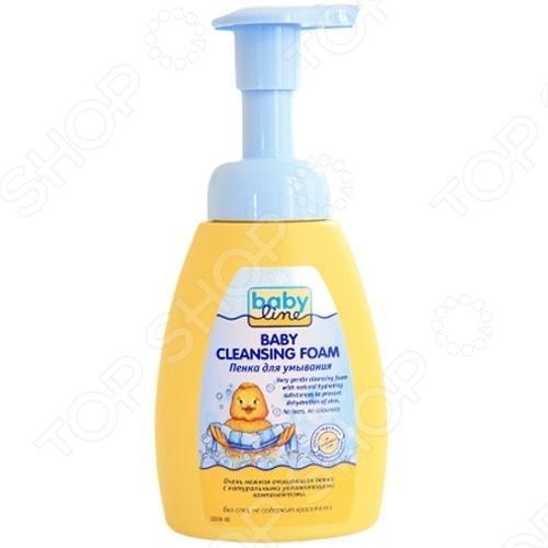 Пенка для умывания BABYLINE с помпой это отличная пена, которая поможет вашему ребенку почувствовать себя по-настоящему чистым. Содержит нежный аромат, который настраивает ребенка на спокойный сон. Средство обеспечивает безопасное, мягкое и нежное увлажнение и питание кожи малыша.