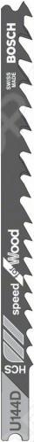 Набор пилок для лобзика Bosch U 144 D HCS пилка для лобзика bosch 2609256746 2609256746