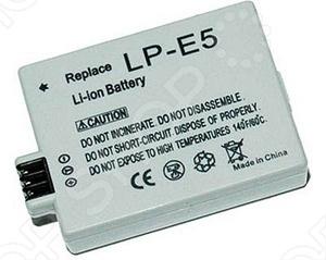 фото Аккумулятор для фотокамеры Dicom DC-LPE5, Аккумуляторные батареи для фотоаппаратов и видеокамер