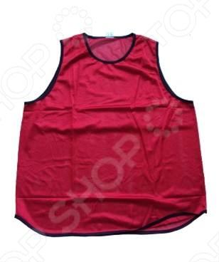 Манишка футбольная ATEMI JY-1050 red