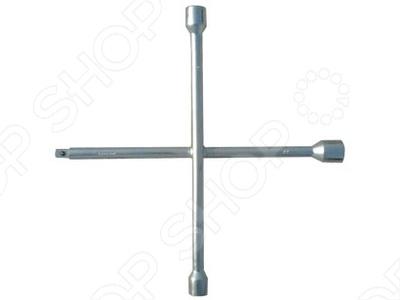 Ключ-крест баллонный СИБРТЕХ 17 х 19 х 21 мм ключ баллонный крестовой heyner 17 х 19 х 21 х 23 мм