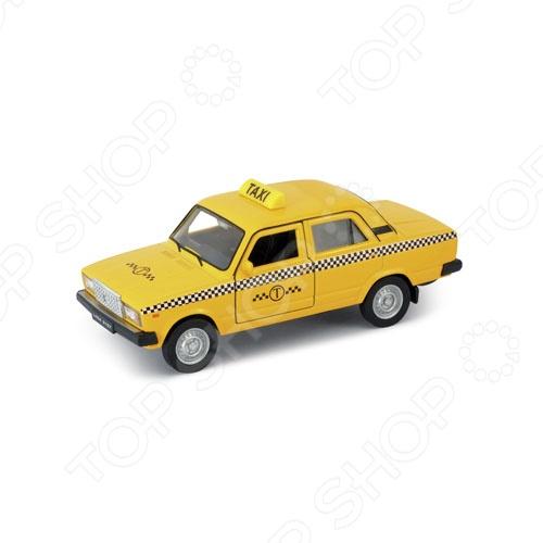 Модель автомобиля 1:34-39 Welly LADA 2107. Такси куплю литые диски в крыму на ваз 2107