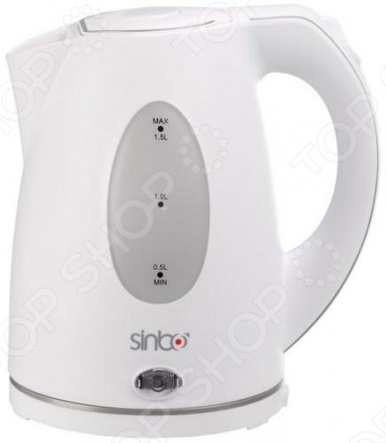 Чайник Sinbo SK-2384B чайник sinbo sk 7358 2200 вт 1 8 л пластик слоновая кость