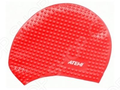 Шапочка для плавания ATEMI BS40Шапочки для плавания взрослые<br>Шапочка для плавания ATEMI BS40 прекрасно защитит ваши волосы при посещении бассейна. Она легко надевается и снимается, не липнет к волосам и не требует особого ухода. Шапочка выполнена из высококачественного силикона, который благодаря своей эластичности подходит к любому размеру головы и не вызывает аллергических реакций при долгом прикосновении с кожей.<br>