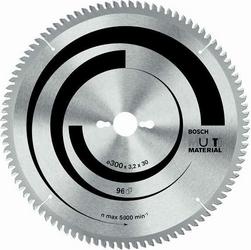 Диск отрезной для торцовочных и настольных дисковых пил Bosch Multi Material 2608640770 диск отрезной для торцовочных пил bosch optiline wood 2608640432