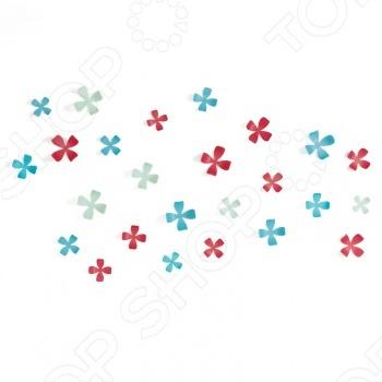 Декор для стен Umbra Wallflower это отличный декор, который вы в считанные минуты сможете прикрепить к стенам. Цветы идеально подойдут к любому интерьеру, оживят и придадут шарм любой комнате или офису. Их очень легко можно прикрепить к стене в любой комбинации. В наборе 25 элементов. Пять разных размеров - от самого маленького 7 х 7 х 3 см до самого большого 11 х 11 х 6 см. Декор упакован в подарочную упаковку.