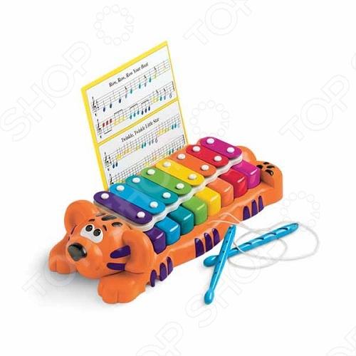 Музыкальная игрушка Little Tikes «Тигр пианино-ксилофон 2 в 1» развивающий центр каталка little tikes 3 в 1