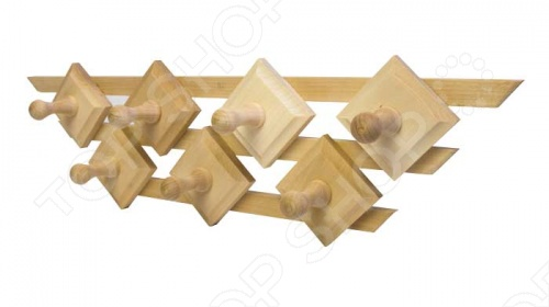 Вешалка для бани Банные штучки «Трапеция. 7 крючков» халаты банные angela халаты банные