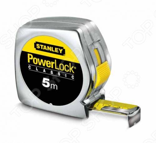 Рулетка Stanley Powerlock 0-33-194 stanley powerlock 5m 0 33 194 рулетка silver