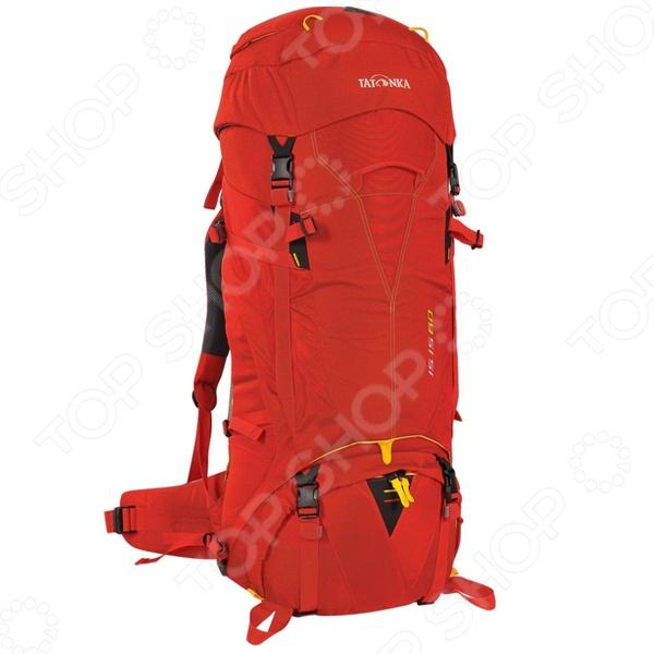 Рюкзак туристический Tatonka Isis 60 1396.015Туристические рюкзаки и аксессуары<br>Рюкзак Tatonka Isis 60 1396.015 станет незаменимым спутником для настоящего любителя приключений, активного отдыха и путешествий. В любой дороге, в любом походе крайне необходимо иметь возможность упаковать, как можно большее количество нужных и полезных вещей и снаряжение. Прочный материал, из которого изготовлен рюкзак, не выгорает на солнце, выдерживают приличные нагрузки, а продуманный крой и конструкция, позволяют рационально использовать весь имеющийся полезный объем. Удобные лямки дает возможность равномерно распределить нагрузку не только на плечи, но и по всей поверхности спины, а так же пояснице. Они обеспечат вам непревзойденный комфорт и легкость передвижения на любой местности и в любой остановке. Все вышеперечисленные характеристики рюкзака обеспечат вам комфорт, уверенность и радость от каждого нового приключения.<br>