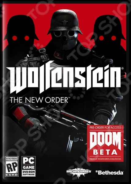 фото Игра для PS3 Soft Club Soft Disk Wolfenstein: The New Order (rus sub), Игры для игровых консолей