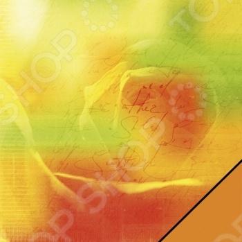 Бумага для скрапбукинга Rayher «Надпись и роза»