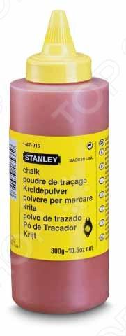 Краситель STANLEY 115 грамм применяется в сфере строительства для выполнения разметочных работ. Меловой порошок имеет насыщенный цвет, что позволяет использовать его для различных задач. Также имеет плохую растворимость в воде и высокую устойчивость к вредным атмосферным условиям.