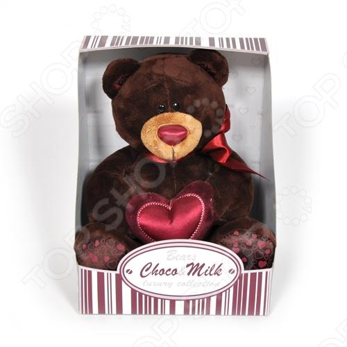 Мягкая игрушка Choco&Milk «Choco с сердцем» мягкая игрушка choco