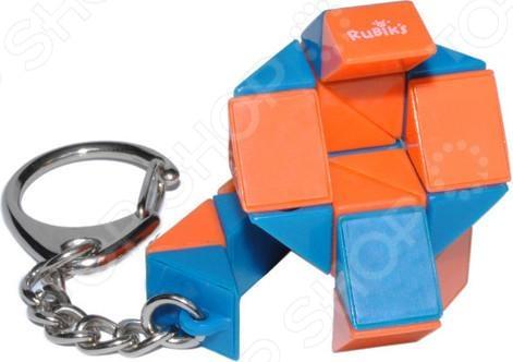 Брелок-головоломка Rubiks «Змейка» labirintus головоломка брелок цвет оранжевый