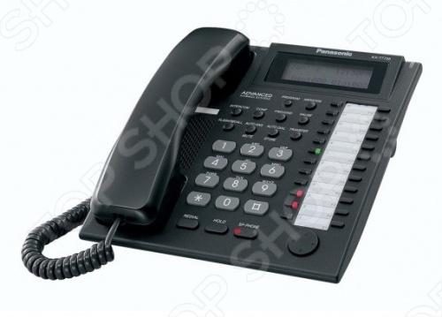 Системный телефон Panasonic KX-T7735RU-B panasonic kx ts2356ru b