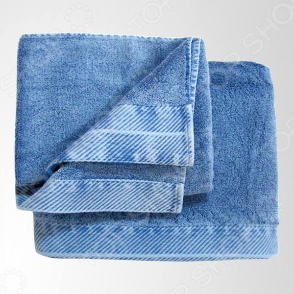Набор из 2-х полотенец Primavelle Jeans полотенце детское арти м набор из 2 полотенец для ванной 820 0