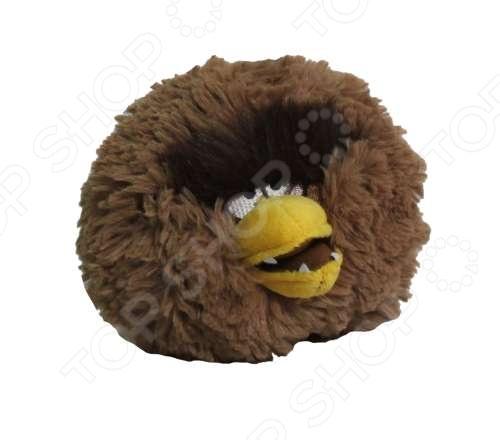 Мягкая игрушка Angry Birds «Чубака» без звука Игрушка мягкая Angry Birds «Чубака» без звука /12 см