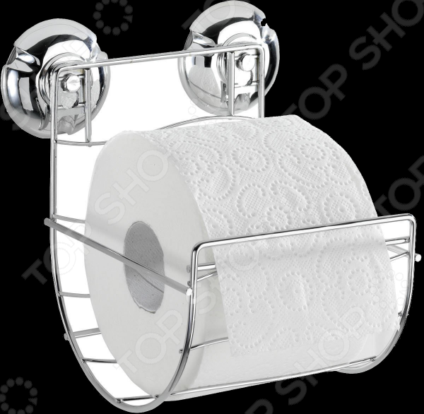 Держатель для туалетной бумаги Wenko Milazzo изготовлен из хромированной нержавеющей стали и не боится помещений, с повышенной влажностью. Тонкие линии и удобные крепления не только очень практичны и удобны, но и позволяют устанавливать держатель в любом интерьере, дополняя и украшая общую картину, задуманную дизайнером.