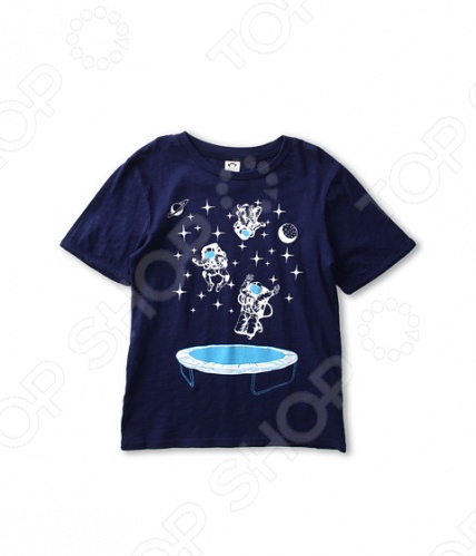 Футболка с рисунком Appaman AstronautsФутболки для мальчиков<br>Appaman - основан в 2003 году дизайнером Харальдом Хузуме. Appaman имеет уникальный взгляд на скандинавский стиль AMERIPOP. Хузум находит вдохновение на улицах Бруклина и переводит его в свою постоянно меняющуюся палитру ярких одежд. Appaman, воплощая свои яркие творческие проекты, не забывает об удобстве и качестве для маленьких и главных людей. Вы считаете, что детская одежда должна быть не только удобной, но также стильной и индивидуальной Тогда бренд Appaman USA для Вас! Футболка с рисунком Appaman Astronauts - стильная футболка свободного покроя, выполненная из натурального материала. Модель с коротким рукавом, округлым вырезом горловины и украшенная ярким принтом Астронавты . Состав: 100 хлопок.<br>